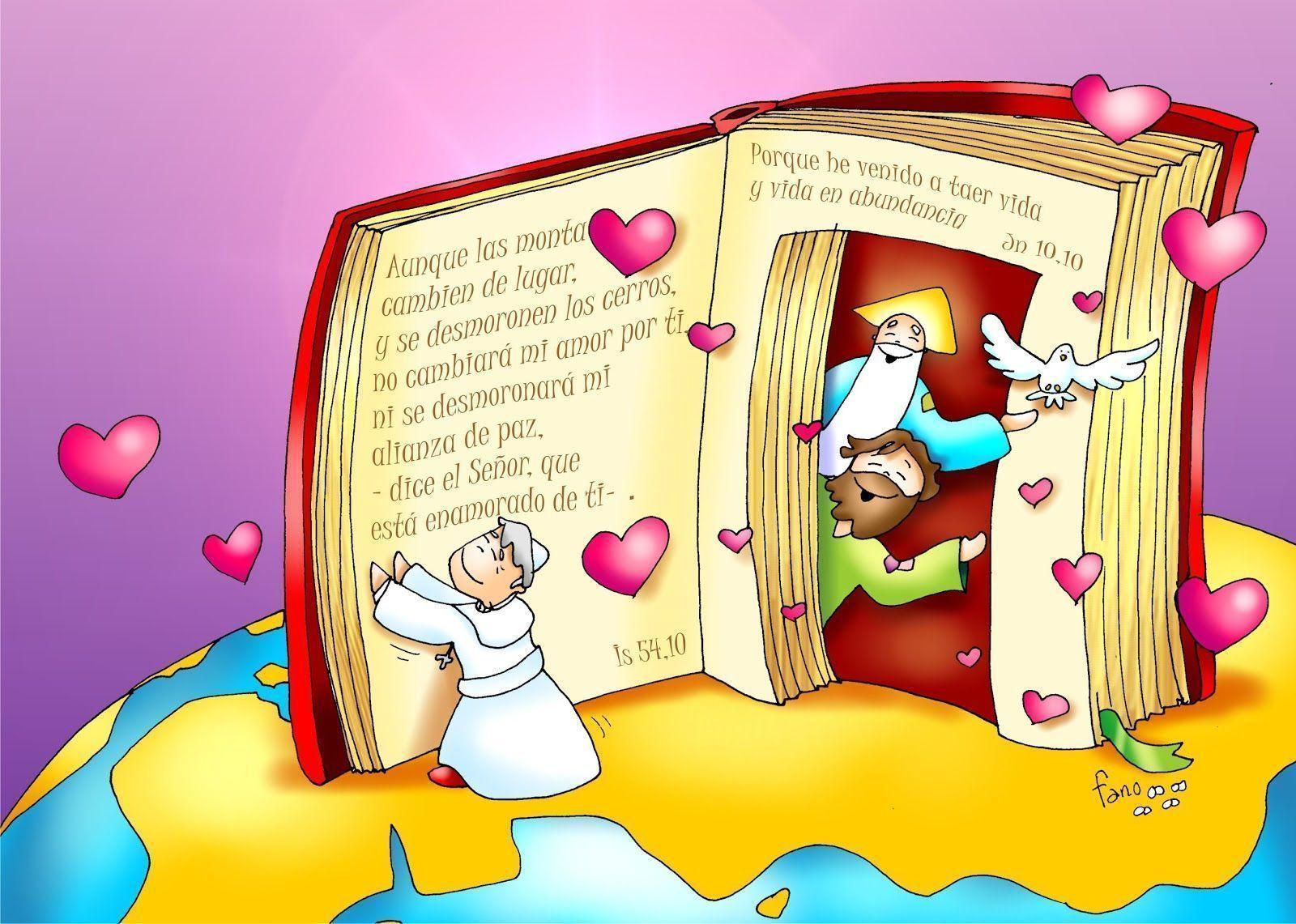 El Evangelio Nos Ayuda En Nuestro Matrimoniodibujo De Fano