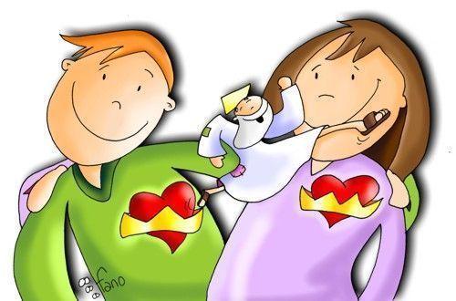 El Matrimonio Y Jesús Dibujos De Fano Nuestro Proyecto